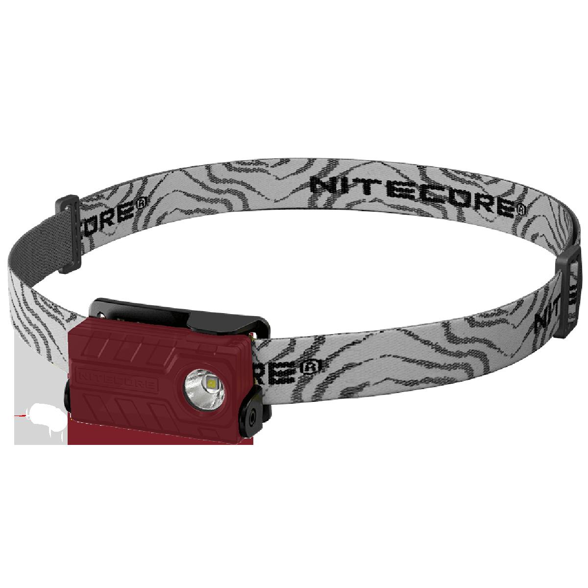 bd6a8f5d72e9 Фонарь налобный Nitecore NU20 360 люмен USB красный купить | Leitos ...